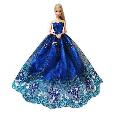 Hercegnő Ruhák mert Barbie baba Csipke Szatén Ruha mert Lány Doll Toy  4999516 2019 –  6.99 56753347a2