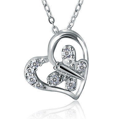 Wonderful Jump with The Sowboard Winter Sports Necklace Personalized Engraved Heart Custom Gift Pendant-Valentines Day Love