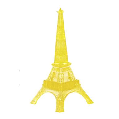levne 3D puzzle-Stavební bloky Puzzle Křišťálové puzzle Věž Slavné stavby Eiffelova věž Udělej si sám Křišťál Žehlička ABS Vánoce Dárek