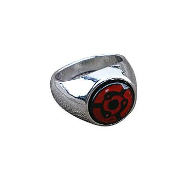 Smycken Inspirerad av Naruto Cosplay Animé Cosplay-tillbehör Ring Legering Herr Varm Halloween kostymer