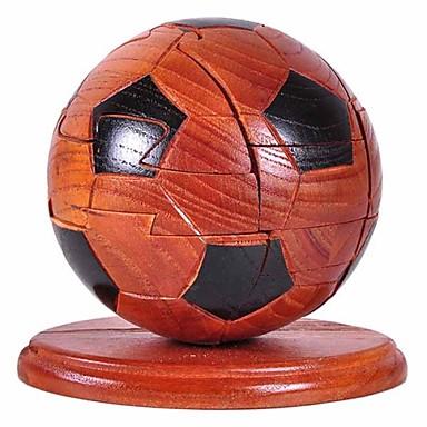 levne 3D puzzle-Stavební bloky 3D puzzle Míčky Fotbal Zábava Dřevo Klasické Hračky Dárek