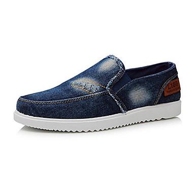 Zapatillas hombre holandeses azul (42-44) OMHDn