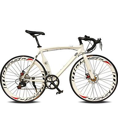 cheap Bikes-Road Bike Cycling 14 Speed 26 Inch / 700CC SHIMANO TX30 Double Disc Brake Ordinary Monocoque Ordinary / Standard Aluminium Alloy / #