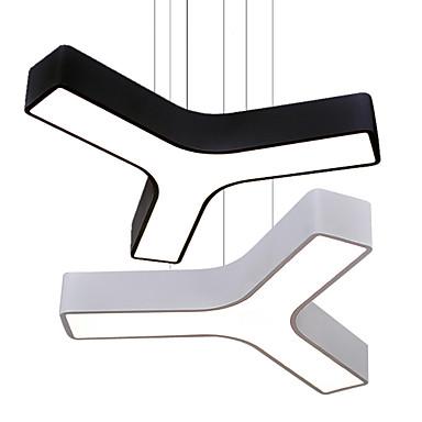 Hängande lampor Fluorescerande Målad Finishes Metall Akryl Ministil, LED 110-120V / 220-240V Varmt vit / Vit