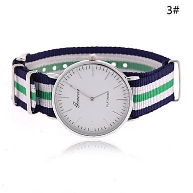 levne Dámské-Dámské Módní hodinky Křemenný Vícebarevný Žhavá sleva Analogové dámy Proužky - 6# 7# 8# Jeden rok Životnost baterie / Tianqiu 377