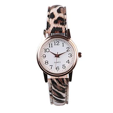 levne Dámské-Dámské Náramkové hodinky Křemenný Žhavá sleva PU Kapela Analogové Matná černá Módní Vícebarevný - S proužky