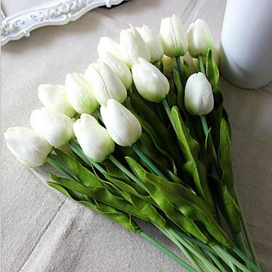 Konstgjorda blommor 8.0 Gren Brudbuketter Tulpaner Bordsblomma