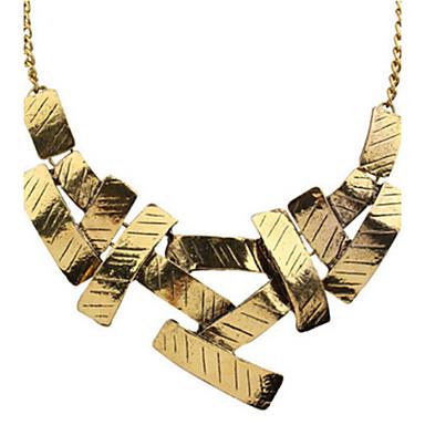 Dam Pärla Uttalande Halsband Pärlhalsband Statement Europeisk Mode söt stil Pärla Legering Guld Silver Halsband Smycken Till Party