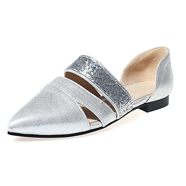fa372668e16 [$19.59] Women's Shoes Glitter Flat Heel Pointed Toe Flats Outdoor / Party  & Evening / Dress Black / Silver