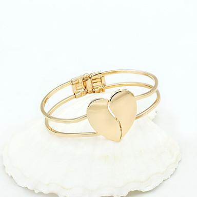 preiswerte Armreifen Armband-Damen Armreife Liebe Modisch Aleación Armband Schmuck Golden Für Party Alltag Normal
