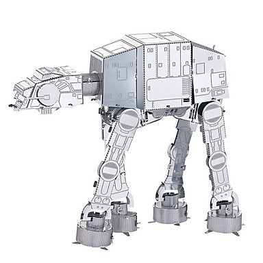 Byggklossar 3D-pussel Metallpussel Imperial Walker kompatibel Legoing Kul Klassisk Pojkar Flickor Leksaker Present / Utbildningsleksak