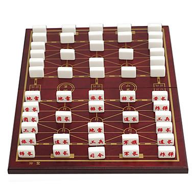 vikbara lådor flottor flyttar militära schack akryl bitar pussel med militära schack fällbara kostym (37 mm guld)