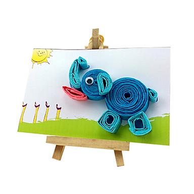 global devalvering magiska DIY handgjorda gratulationskort tidig barndom pedagogiska leksaker pussel md14