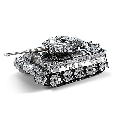 levne 3D puzzle-3D puzzle Dřevěné puzzle Kovové puzzle Tank Kov Chlapecké Dívčí Hračky Dárek