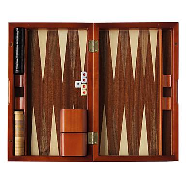 Royal St ny 13-tums trä baccarat schack backgammon massivt trä trä tärning kopp akryl tärna zebra