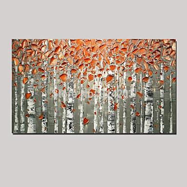 Hang målad oljemålning HANDMÅLAD - Landskap Stilleben fantasi Parfymerad Europeisk Stil Med Ram