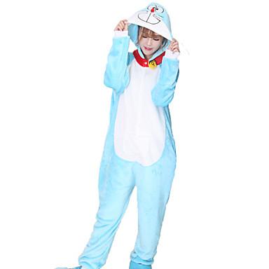 96d00950605 Kigurumi πιτζάμες Γάτα Ολόσωμη φόρμα Πυτζάμες Στολές Φλις Μπλε Cosplay Για  Ενηλίκων ζώο Πυτζάμες Κινούμενα σχέδια Απόκριες Γιορτές / 1557722 2019 –  $23.45