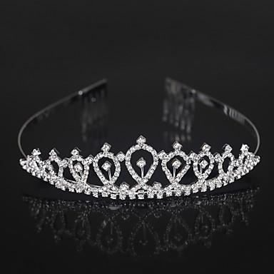 povoljno Party pokrivala za glavu-Legura tijare / Šeširi s Cvjetni print 1pc Vjenčanje / Special Occasion Glava
