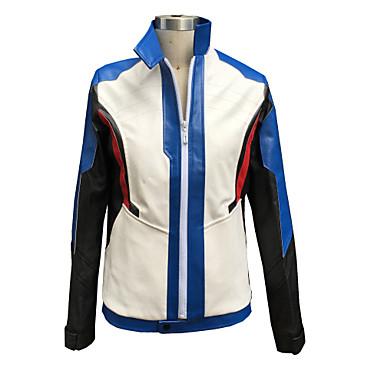 Inspirerad av Overwatch Sice Video Spel Cosplay-kostymer cosplay Suits Geometrisk Långärmad Kappa Handskar Kostymer