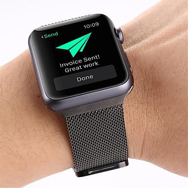 Klockarmband för Apple Watch Series 5/4/3/2/1 Apple Milanesisk loop Rostfritt stål Handledsrem