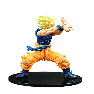 cheap Action & Toy Figures-Son Goku Fighter Aircraft Display Model Novelty Classic & Timeless Plastic Girls' Toy Gift 1 pcs