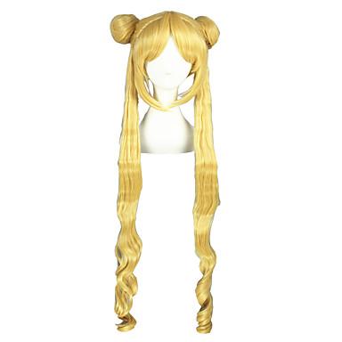 Συνθετικές Περούκες Ίσιο Ίσια Περούκα Ξανθό 13εκ Ξανθό Συνθετικά μαλλιά Ξανθό