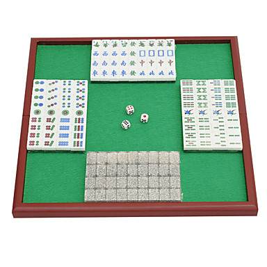 Royal St. miniatyr kristall mahjong mahjong mahjong turism 20 mm elfenben / påse