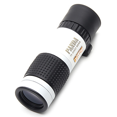 cheap Binoculars, Monoculars & Telescopes-PANDA 15 X 22 mm Monocular Night Vision High Definition / Generic / Carrying Case bak4 83m-1000m Hunting Bird watching general use normal zoom binoculars dimlight white