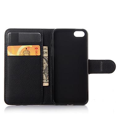 povoljno Apple oprema-Θήκη Za iPhone 7 / iPhone 7 Plus / iPhone 5 iPhone 7 Plus / iPhone 7 / iPhone SE / 5s Novčanik / Utor za kartice / sa stalkom Korice Jednobojni Tvrdo PU koža
