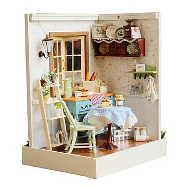 pastoral DIY hydda chi fun house lodge staden söta ord upplyst hus kreativa handgjorda presenter