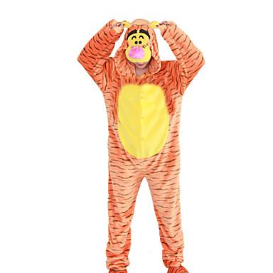 adulte pyjamas kigurumi tiger combinaison de pyjamas. Black Bedroom Furniture Sets. Home Design Ideas