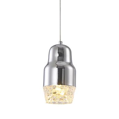 Ecolight™ Hängande lampor Fluorescerande Krom Metall LED 90-240V Varmt vit / Vit Glödlampa inkluderad / Integrerad LED