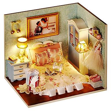ursprungliga lycka ögonblick DIY manuell modell för ett hus till hus bygga män och kvinnor vänner speciell födelsedagspresent