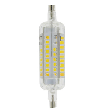 3 W LED-lampa 250-300 lm R7S T 60 LED-pärlor SMD 2835 Vattentät Dekorativ Varmvit Kallvit 220-240 V / 1 st / RoHs