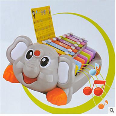elefanten djur handen knock