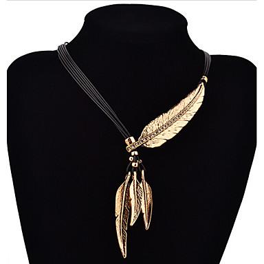 levne Dámské šperky-Dámské Náhrdelníky s přívěšky Y Náhrdelník Laso faceter dámy Módní Postříbřené Pozlacené Žluté zlato Stříbrná Zlatá Náhrdelníky Šperky Pro Denní Ležérní