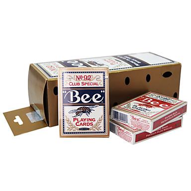bee spelkort 92 bee varumärke fluorescerande anti-förfalskningskort (12 pack)