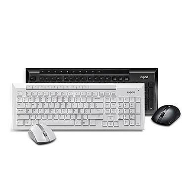 a18dc39b416 Original Rapoo X336/8200P 5.0G Wireless Optical Gaming Keyboard & Mouse Set  Waterproof USB Wireless Combo 5012523 2019 – $47.99