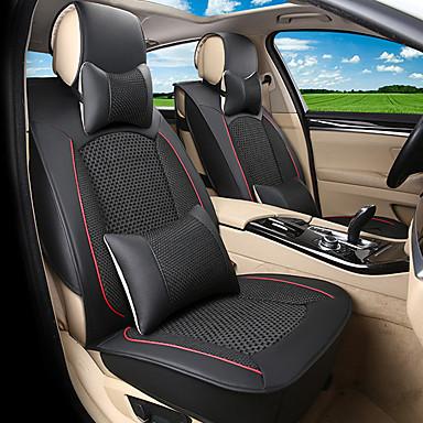 voordelige Auto-interieur accessoires-Auto-stoelhoezen Stoel hoezen Zwart / Beige / Koffie Zakelijk