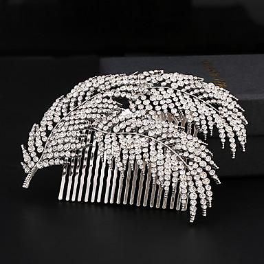 Bergkristall / Legering Hair Combs med 1 Bröllop / Speciellt Tillfälle Hårbonad