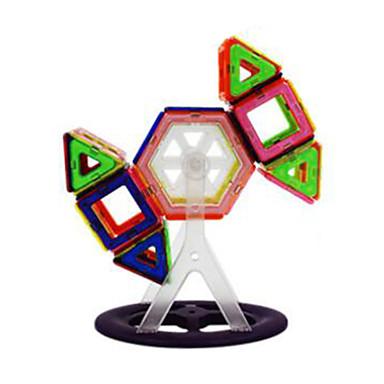 magnetiska block, montera magnetmagnet pedagogiska leksaker för barn-139 stycken