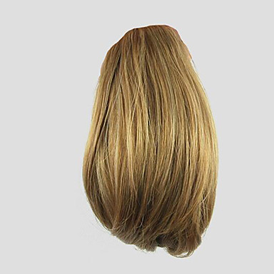 Klämma in Hästsvans Björnkläm / käftklämma Syntetiskt hår Hårstycke HÅRFÖRLÄNGNING Lockigt