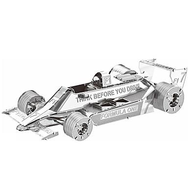 levne 3D puzzle-3D puzzle Puzzle Dřevěné puzzle Auto Udělej si sám Kovový Závodní auto Chlapecké Dívčí Hračky Dárek