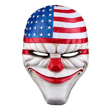 levne Masky-Halloweenské masky Masky maškarní Polykarbonát Filmová postava Jídlo a nápoje Dospělé