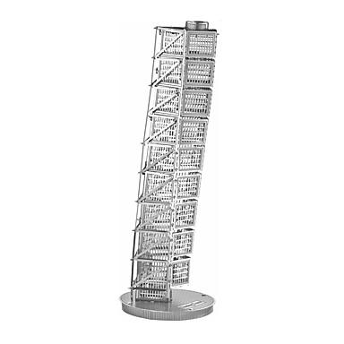 levne 3D puzzle-3D puzzle Dřevěné puzzle Kovové puzzle Slavné stavby Šikmá věž v Pise Kov Chlapecké Dívčí Hračky Dárek