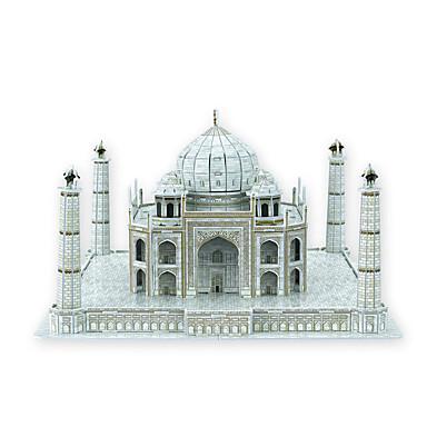 voordelige 3D-puzzels-Legpuzzels 3D Puzzles Bouw blokken DIY Toys beroemde gebouwen Papier Grijs Modelbouw & constructiespeelgoed