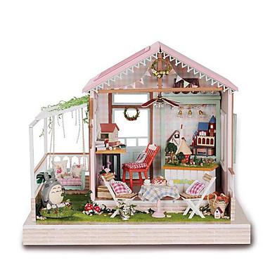 voordelige 3D-puzzels-CUTE ROOM 3D-puzzels Modelbouwsets Houten modellen DHZ Puinen Kinderen Volwassenen Jongens Meisjes Speeltjes Geschenk
