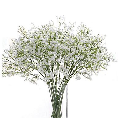 זול בית וגן-פרחים מלאכותיים גבסופילה 6 פרחים לחתונה פרחים לחתונה פרח שולחן נשימה לתינוק