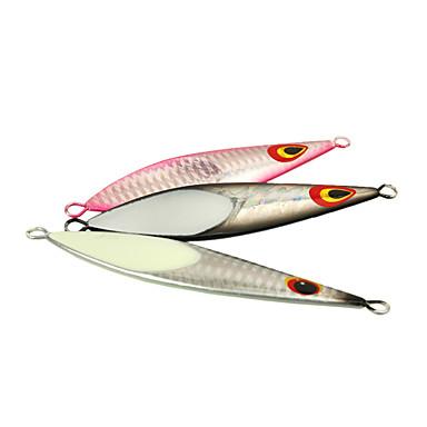 1 pcs Fiskbete Hårt bete Metallbete Sjunker Bass Forell Gädda Sjöfiske Spinnfiske Jiggfiske Metall / Färskvatten Fiske / Abborr-fiske / Drag-fiske / Generellt fiske