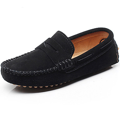 cheap SHENN-Boys' Light Soles Leather Loafers & Slip-Ons Little Kids(4-7ys) / Big Kids(7years +) Gray / Brown / Royal Blue Spring / Summer / Rubber / EU37